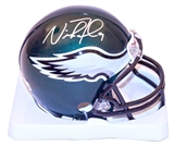 Nick Foles Autographed Philadelphia Eagles Mini Helmet (Fanatics Authentic)
