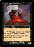Magic the Gathering Invasion Single Nightscape Apprentice FOIL