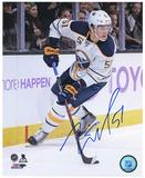 Nikita Zadorov Autographed Buffalo Sabres Turning 8x10 Hockey Photo