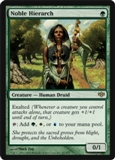Magic the Gathering Conflux Single Noble Hierarch LIGHT PLAY (NM)
