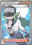 Pokemon Noble Victories Single Trainer N 101/101 - SLIGHT PLAY (SP)