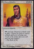 Magic the Gathering Alpha Single Northern Paladin - MODERATE PLAY (MP)