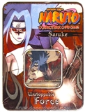 Naruto Unstoppable Force Sasuke Tin (Bandai)