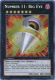 Yu-Gi-Oh Galactic Overlord 1st Edition Single Number 11: Big Eye Secret Rare
