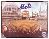 Artissimo New York Mets Glory Citi Field Stadium 28x22 Canvas