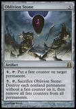 Magic the Gathering Commander 2011 Single Oblivion Stone - SLIGHT PLAY (SP)