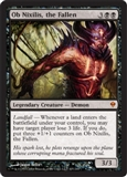 Magic the Gathering Zendikar Single Ob Nixilis, the Fallen - NEAR MINT (NM)