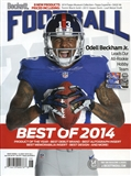 2015 Beckett Football Monthly Price Guide (#293 June) (Odell Beckham Jr.)