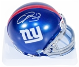 Odell Beckham Jr. Autographed New York Giants Mini Helmet (Steiner)