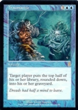 Magic the Gathering Odyssey Single Traumatize UNPLAYED (NM/MT)