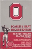 2005 TK Legacy Ohio State Football Hobby Box