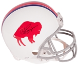 O.J. Simpson Autographed Buffalo Bills Throwback Full Size Replica Helmet (Locker 32)