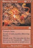 Magic the Gathering Onslaught Single Blistering Firecat UNPLAYED (NM/MT)
