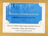 2011 Onyx Preferred Players National Edition Baseball Hobby 3-Box Case
