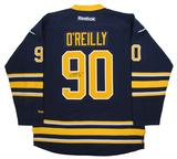 Ryan O'Reilly Autographed Buffalo Sabres Blue Hockey Jersey