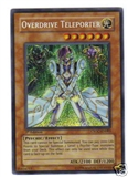Yu-Gi-Oh Crossroads of Chaos Single Overdrive Teleporter Secret Rare