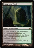 Magic the Gathering Return to Ravnica Single Overgrown Tomb Foil