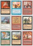 Magic the Gathering Portal 3: Three Kingdoms Complete NEAR MINT, GRADEABLE Set