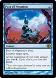 Magic the Gathering Future Sight Single Pact of Negation MODERATE PLAY (MP)
