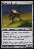 Magic the Gathering Shadowmoor Single Painter's Servant FOIL - SLIGHT PLAY (SP)
