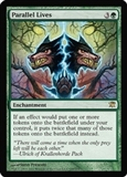 Magic the Gathering Innistrad Single Parallel Lives Foil