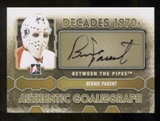 2012/13 In the Game Between The Pipes Autographs #ABP Bernie Parent DEC SP Autograph