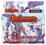 Pathfinder Game: Rise of the Runelords Sins of the Saviors Adventure Deck (Box)