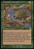 Magic the Gathering Urza's Destiny Single Pattern of Rebirth - HEAVY PLAY (HP)