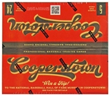 2012 Panini Cooperstown Baseball Retail 24-Pack Box - WOW !!!