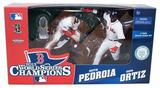 Boston Red Sox David Ortiz and Dustin Pedroia Championship McFarlane 2 Pack