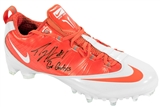 "Percy Harvin Autographed University of Florida Gators Nike Cleat w/""Go Gators"" (JSA)"