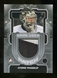 2012/13 In the Game Between The Pipes Jerseys Patch Silver #M50 Storm Phaneuf /19