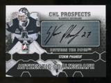 2012/13 In the Game Between The Pipes Autographs #APD Philippe Desrosiers Autograph