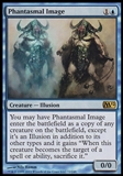 Magic the Gathering 2012 Single Phantasmal Image FOIL - SLIGHT PLAY (SP)