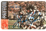 Walter Payton Autographed Chicago Bears 1985 Super Bowl Champs Phone Card (Steiner)