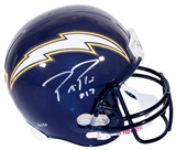 Philip Rivers Autographed San Diego Chargers Full Size Helmet (Sport Int & Rivers Holo)