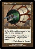 Magic the Gathering Invasion Single Phyrexian Lens FOIL