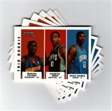 2003/04 Fleer Tradition #297 Mickael Pietrus Dahntay Jones Reece Gaines RC Lot of 88 (BV=$440)