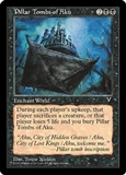 Magic the Gathering Visions Single Pillar Tombs of Aku - NEAR MINT (NM)
