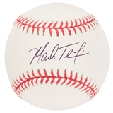 Mark Teixeira Autographed New York Yankees Official Major League Baseball (JSA)