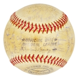 1971 Chicago Cubs Autographed Team Signed Baseball (JSA COA) 30 Signatures (B)