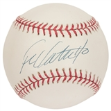 Frank Catalanotto Autographed Toronto Blue Jays Official MLB Baseball (PSA)