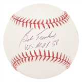 "Bob Turley Autographed New York Yankees Official MLB Baseball w/""WS MVP 58"" (Tristar)"