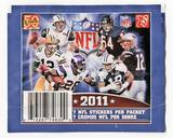 2011 Panini NFL Football Sticker Pack