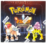WOTC Pokemon Neo 3 Revelation 1st Edition Booster Box