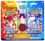 Pokemon Double Crisis Pin Pack (4 Booster Packs/1 Pin - Team Magma/Aqua!)