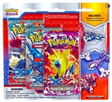 Pokemon Primal Reversion Pin 3-Pack (3 Booster Packs PLUS 1 Pin!)