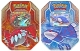 2015 Pokemon Legends of Hoenn Collector's Tin - Set of 2 (Kygore-EX, Groudon-EX)