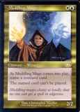 Magic the Gathering Planeshift Single Meddling Mage - MODERATE PLAY (MP)