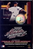 2003 Playoff Absolute Memorabilia Baseball 9 Pack Mini Hobby Box